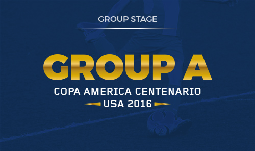 Group A: United States - Colombia - Costa Rica - Paraguay